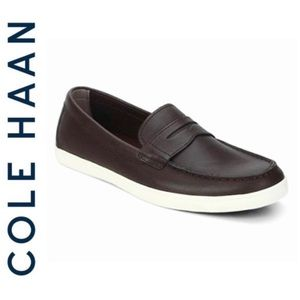 BRAND NEW Cole Haan Hyannis penny leather loafers